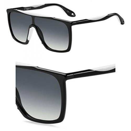 Givenchy - GV 7040/S, Autres formes, injecté/propionate, homme, BLACK WHITE/DARK GREY SHADED(TEM/9O), 99/3/145
