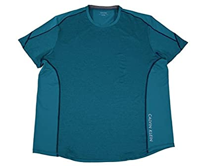 Calvin Klein Mens Performance Stretch Dry Tech Active TEE