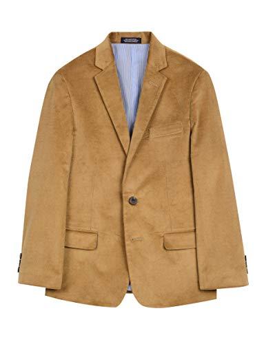 Izod boys Corduroy Blazer Jacket, Antigue Bronze, 10