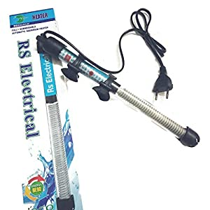 RS Electrical 200 W Automatic on Off Facility Aquarium Glass Heater