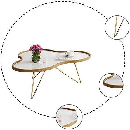 Online Winkel ZRRtables Moderne salontafel voor de woonkamer van de Nordic koffietafel tafel cementoppervlakblad-metalen theetabel eDqEMww