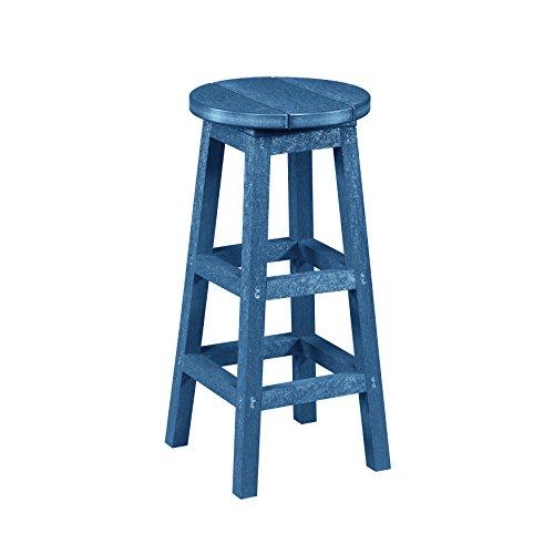 Captiva Casual  Bar Stool, Cobalt Blue (Stools Bar Recycled Plastic)