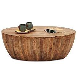 The Armchair Drum Coffee Table (Natural)