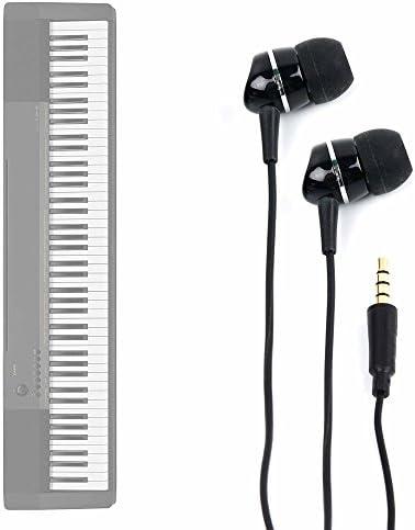 DURAGADGET Auriculares para Teclado/Piano Eléctrico Casio ...