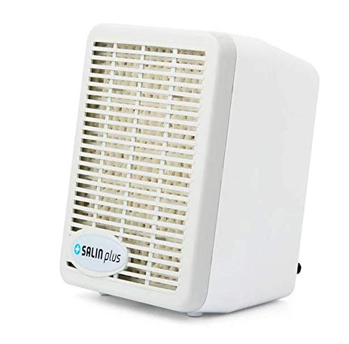 Salin Plus Salt Therapy Air Purifier Device with Salt Replaceable Filter for Asthma and Allergy