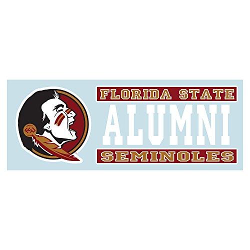 Craftique Florida State Seminoles Decal FS Seminole Alumni Decal 6