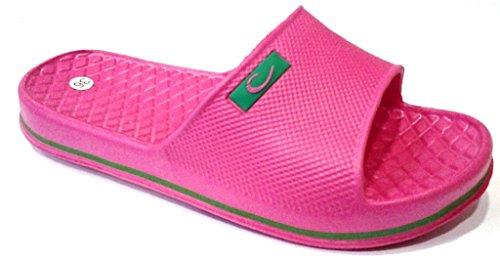 dema , Damen Hausschuhe Pink fuchsia 37