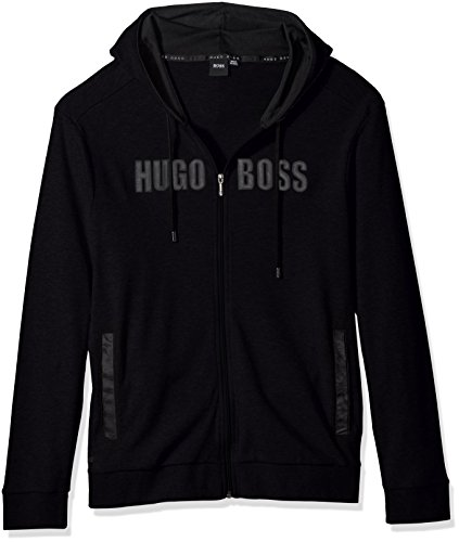 HUGO+BOSS+Men%27s+Jacket+Hooded+1%2C+Black%2C+M