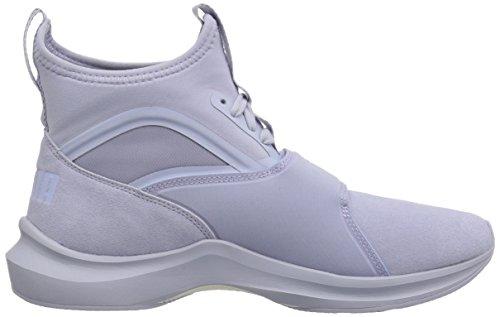 Puma Donna In Pelle Scamosciata Fenomenica Sneaker Blu Islandese Blu-islandese