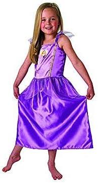 Oferta amazon: Princesas Disney - Disfraz de Rapunzel lila para niña, infantil 7-8 años (Rubie's 886512-L)