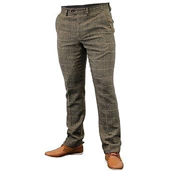 Marc Pantalons Darcy Pour À En Pantalon Tweed Hommes Carreaux Épi qvwExfrtva