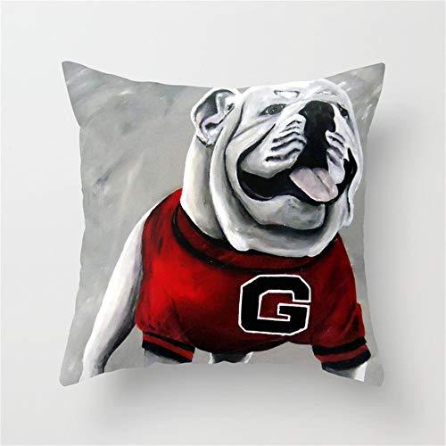 georgia bulldogs couch throw - 1