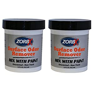 ZorbX Odor Remover Paint Additive – Use with Any Paint or Primer to Remove Lingering Odors like Smoke Smell or Pet Odors, Non-Toxic and Biodegradable, Suitable for Individuals with Allergies and Respi