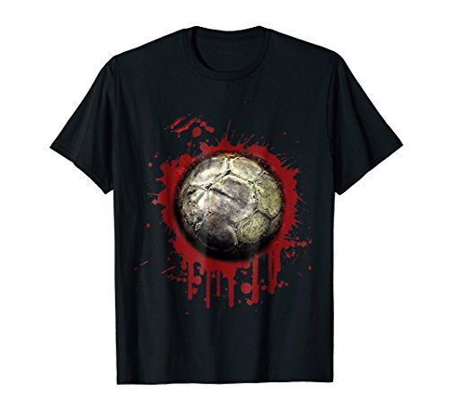 Zombie Soccer Player T-shirt Halloween 2018 -
