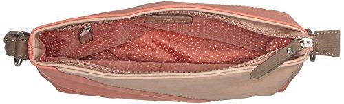 Carina Bolsos Acc Tom Tailor Mujer bandolera Coralle Rosa EqZtwCat