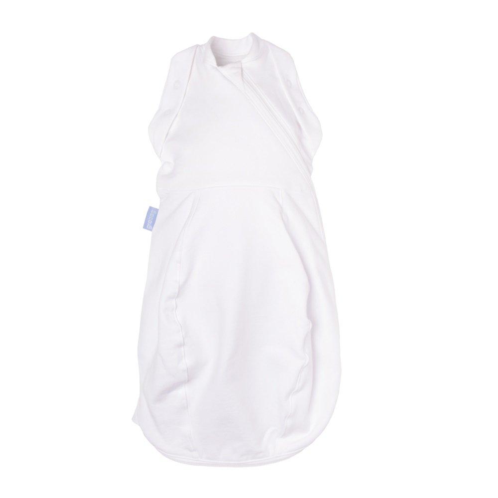 The Gro Company Snug New Born Grobag/Swaddle (5-12 Lbs, White/Light) AFA1001