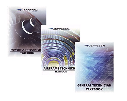 Jeppesen AMT A&P Textbook Bundle - General, Airframe & Powerplant - 10011905 by Jeppesen
