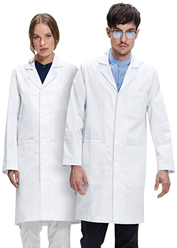 Dr. James Professionally Designed Unisex Lab Coat - 39 Inch Length US-01-3XL