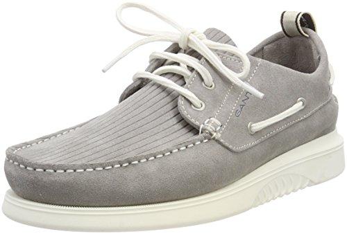 Gant Men Dennis Boat Shoes Grau (Sleet Gray)