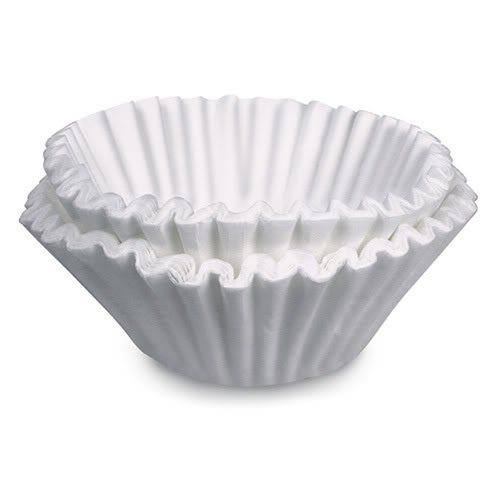 BUNN 20111.0000 Commercial 6 Gallon Titan Dual or Single Paper Coffee Filters (Pack of 250) from Bunn