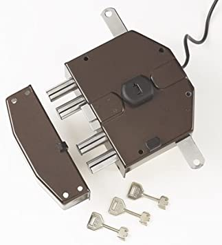 Cerradura eléctrica de sobreponer Yale Art.6823680: Amazon.es ...