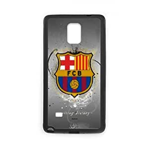 FC Barcelona Samsung Galaxy Note 4 Cell Phone Case Black Customized Gift pxr006_5330815