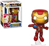 Avengers Infinity War 26463 Pop Bobble Marvel Iron Man Collectible Figure, Multicolor