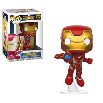 Amazon.com: Funko POP! Marvel: Avengers Infinity War - Iron Man ...