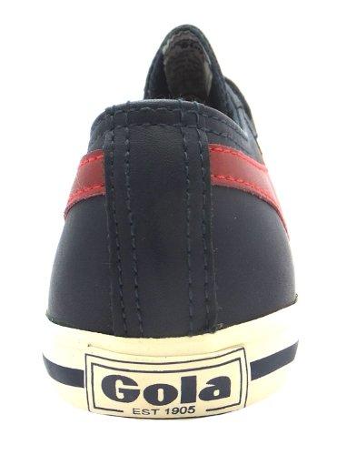 Gola  Quiff Leather, Baskets mode pour garçon Noir noir