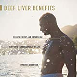 Enviromedica Freeze Dried Beef Liver Natural Energy Supplement Capsules of Pure Grass-Fed, Pastured, New Zealand Bovine with Preformed Vitamin A