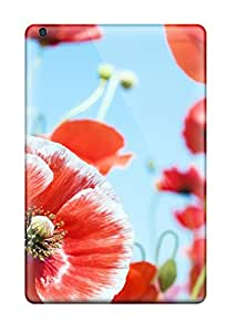 Ernie Durante Jackson's Shop Ultra Slim Fit Hard Case Cover Specially Made For Ipad Mini- Variety Red Flowers 6969404I89996742