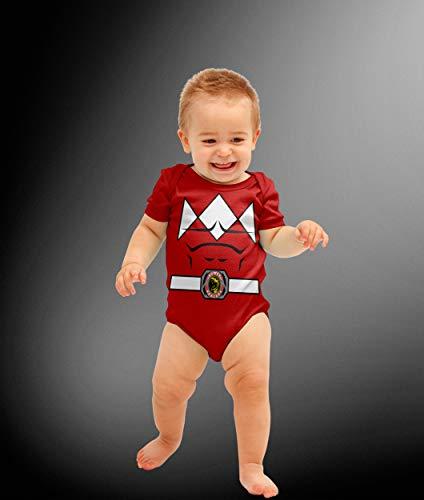 Power Ranger Bodysuit (Baby Red Ranger Costume)
