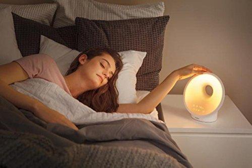 Philips Somneo Sleep and Wake-up Light Therapy Lamp HF3650