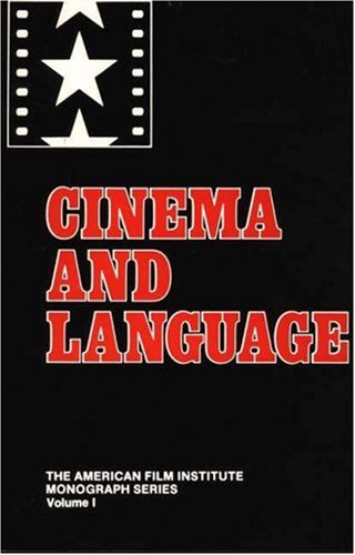Cinema and Language (American Film Institute Monograph.) by Brand: Praeger