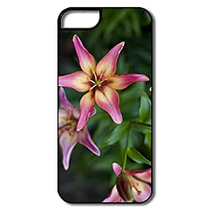 PTCY IPhone 5/5s Personalized Cool Russian Flowers