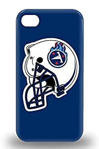 Waterdrop Snap On NFL Tennessee Titans Logo 3D PC Case For Iphone 4/4s ( Custom Picture iPhone 6, iPhone 6 PLUS, iPhone 5, iPhone 5S, iPhone 5C, iPhone 4, iPhone 4S,Galaxy S6,Galaxy S5,Galaxy S4,Galaxy S3,Note 3,iPad Mini-Mini 2,iPad Air )