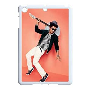 J-LV-F Design Case Bruno Mars Customized Hard Plastic Case for iPad Mini