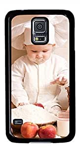 Baby chef Masterpiece Limited Design DIY PC Black Case for Samsung Galaxy S5 I9600 by Cases & Mousepads hjbrhga1544