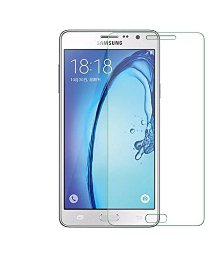 SAMSUNG GALAXY ON 7 PRO Tempered Glass plus Mobilia USB Data Cable & OTG Cable