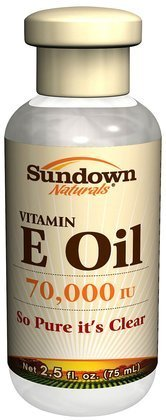 Sundown Vitamin E Oil 70000 IU Body Care / Beauty Care / Bodycare / BeautyCare