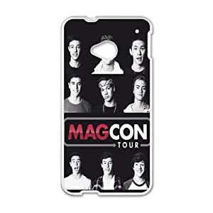 HUAH Magcon Tour Cell Phone Case for HTC One M7