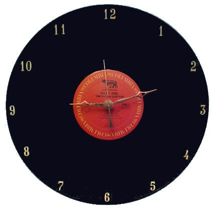 Billy Joel - The Nylon Curtain LP Rock Clock