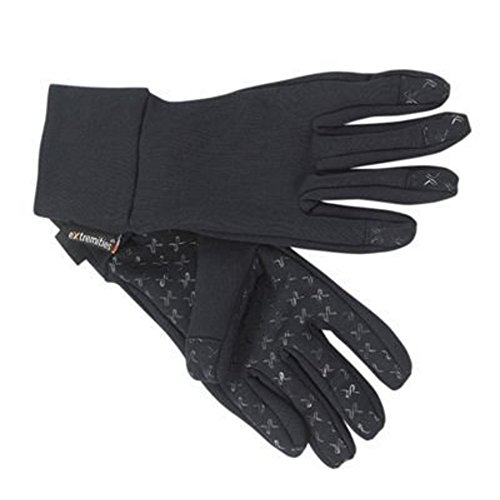 トラック構想する接続された(テラノバ)TERRA NOVA Sticky Power Stretch Glove Black XSサイズ 21SPS