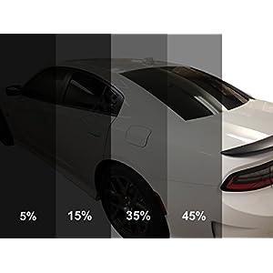 "LEXEN LX 40"" x 100FT Roll 2Ply Auto Car Window Tint Film (5% Limo (Darkest Shade))"