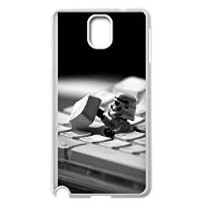 Samsung Galaxy Note 3 Cell Phone Case White_ae10 storm trooper starwars keyboard film Qedbq