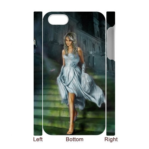 SYYCH Phone case Of Cinderella Cover Case For Iphone 4/4s
