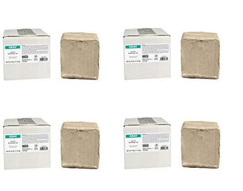 AMACO AMA46317P Air Dry Clay, Gray, 25 lbs. (Pack of 4) by AMACO (Image #2)