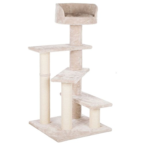 Trixie Pet Products Tulia Senior Cat Scratching Post, Light Gray