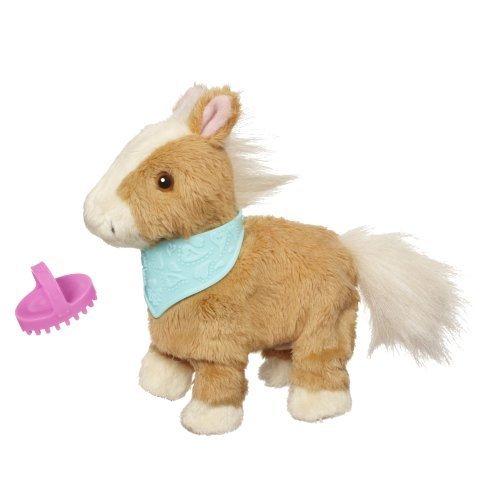 FurReal Friends Snuggimals Walkin' Ponies Shimmer Sky Pet by Fur Real Friends -  Hasbro