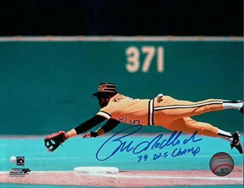 Bill Madlock Signed 8X10 Photograph